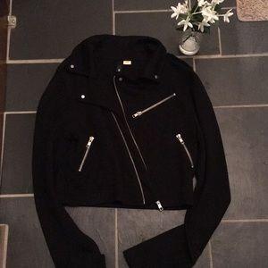 EUC Cropped jacket